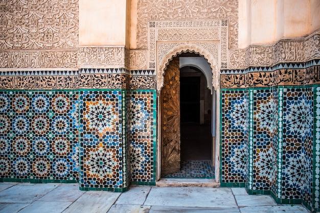 モロッコの壁の装飾 Premium写真