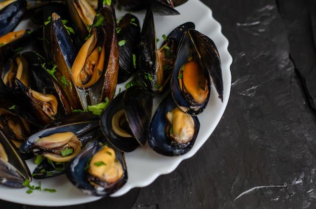 地中海の古ダイエット食品のコンセプト Premium写真