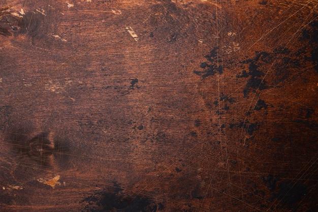 古いグランジの木製の背景テクスチャ Premium写真