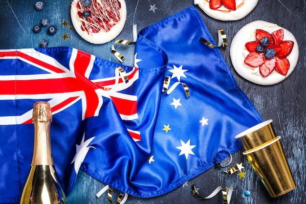 オーストラリアデーのコンセプト Premium写真
