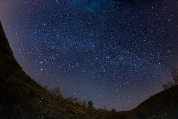 アルプスの上の星空 Premium写真