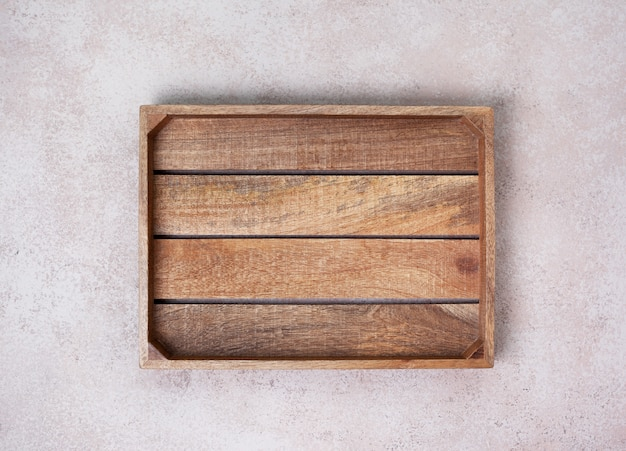 空の木箱 Premium写真