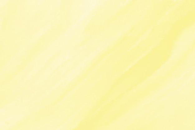黄色の水彩テクスチャ背景 無料写真