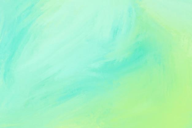 グリーンとライムの水彩テクスチャ背景 無料写真