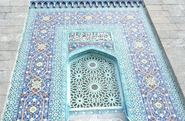 玄関のカラーのイスラムモスク 無料写真
