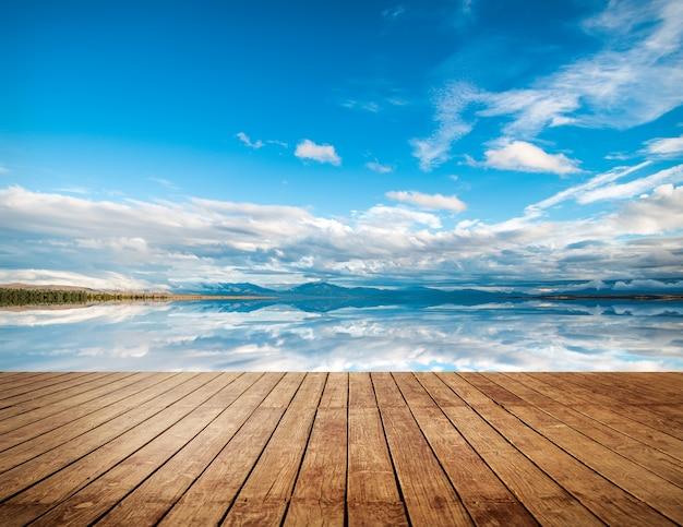 地平線のテクスチャ 無料写真