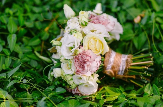 Свадебный букет Premium Фотографии