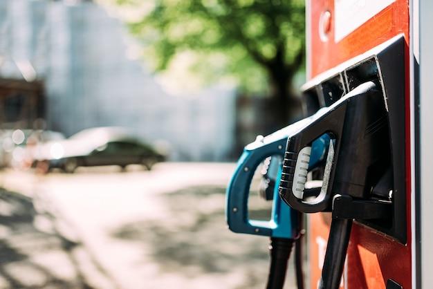 電気自動車充電ステーション Premium写真