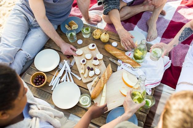 Пикник на пляже Бесплатные Фотографии