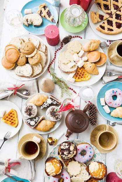 お祝い菓子 無料写真