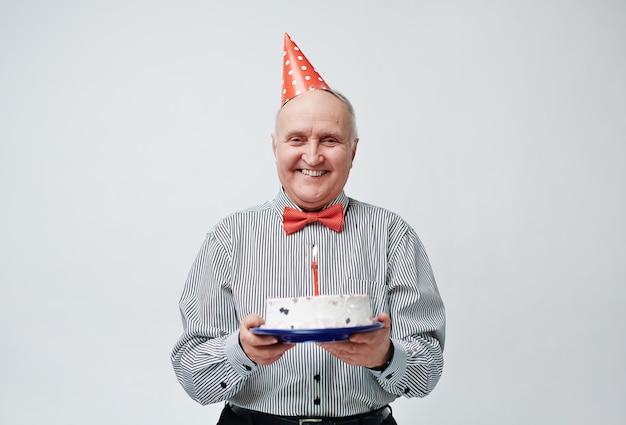 お誕生日おめでとうおじいちゃん 無料写真