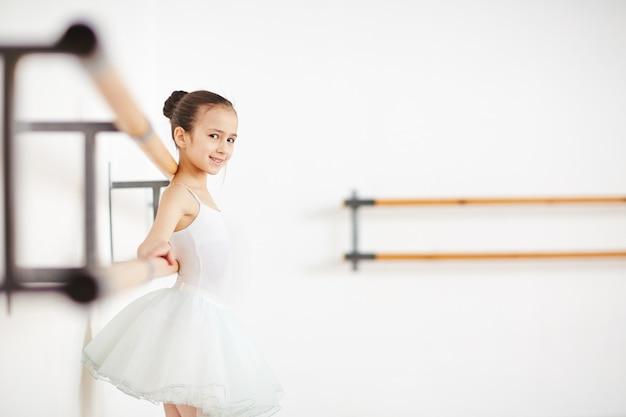 女の子のトレーニング 無料写真