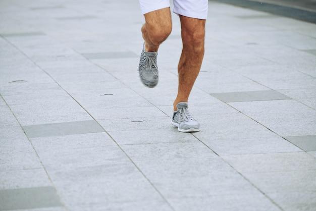 マラソン参加者 無料写真