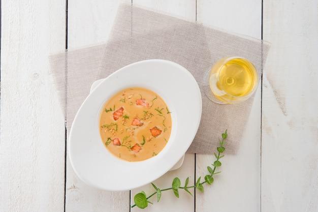 Сливочный рыбный суп Бесплатные Фотографии