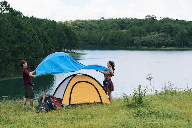 Покрытие палатки Бесплатные Фотографии