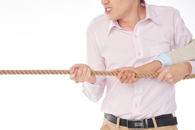 Потянув веревку с гневом Бесплатные Фотографии