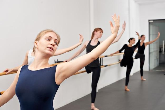 バレエの動き 無料写真