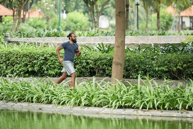 Бег трусцой в парке Бесплатные Фотографии