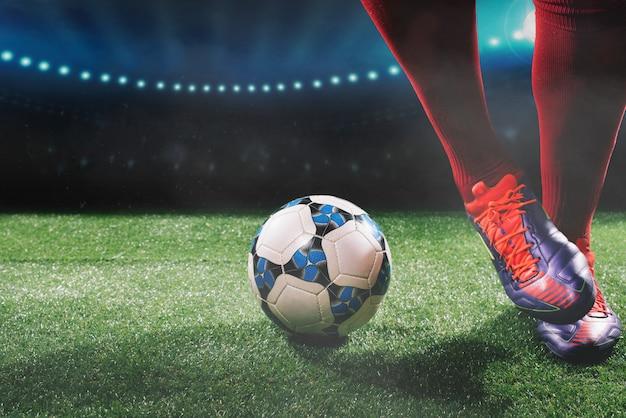 サッカー Premium写真