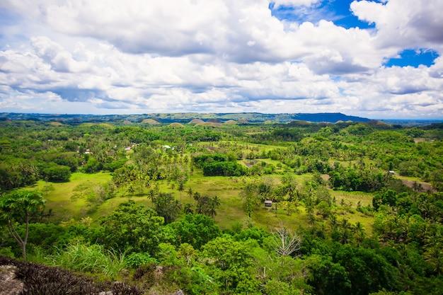ボホール島のフィリピンの風景 Premium写真