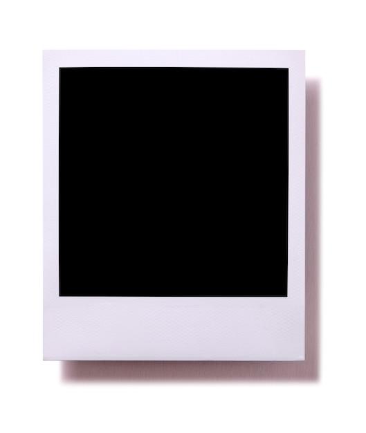 印刷されたインスタント写真 無料写真