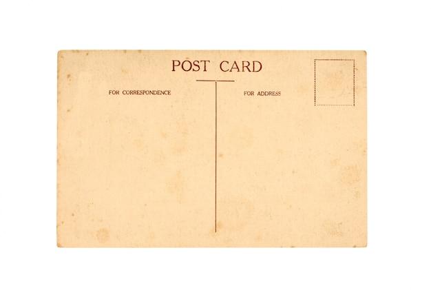 古いポストカード 無料写真