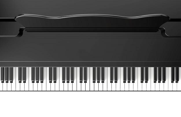ピアノの鍵 Premium写真