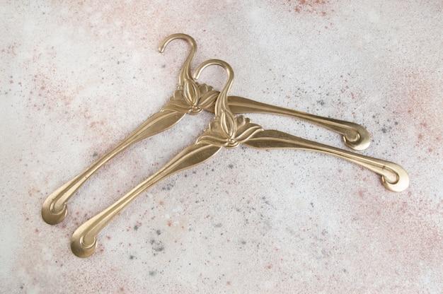 ヴィンテージ真鍮製ハンガー Premium写真