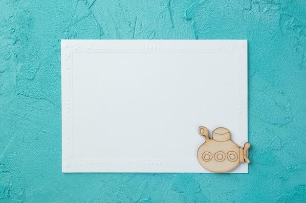 白い空白のメモ帳 Premium写真