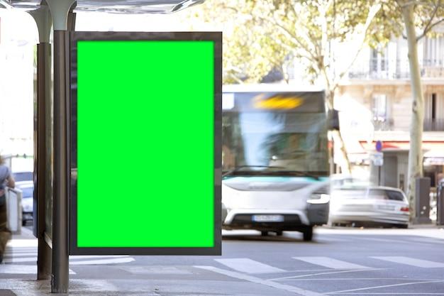 屋外ビルボード広告 Premium写真