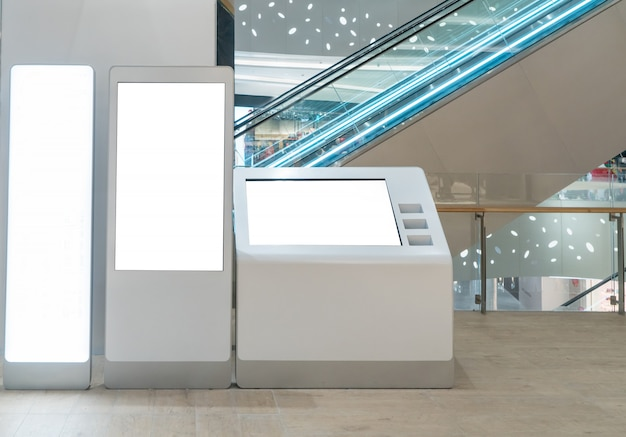 高級ショッピングモール付きライトボックス Premium写真