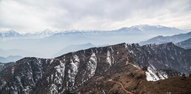 雪の山 無料写真