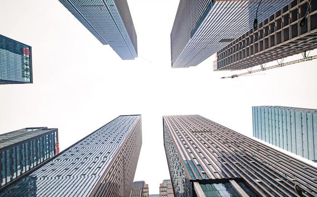 ショット日目の大都市都市 無料写真