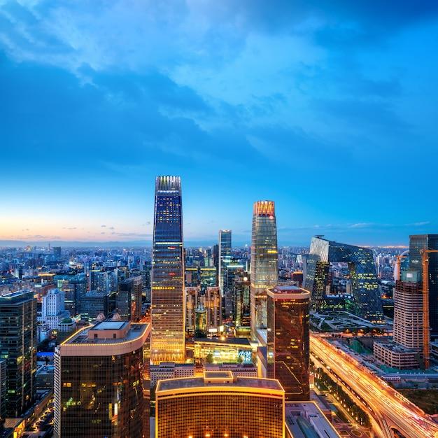 Аэрофотоснимок пекина Premium Фотографии