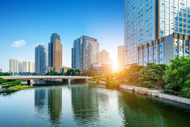 都市景観 Premium写真