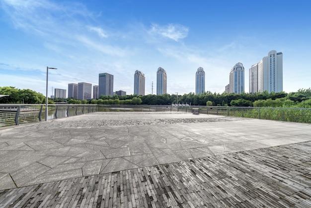 シティスクエアと超高層ビル Premium写真