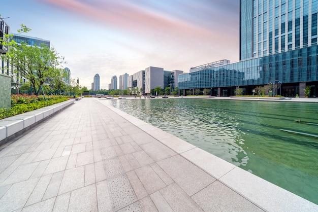 中国寧波都市景観 Premium写真