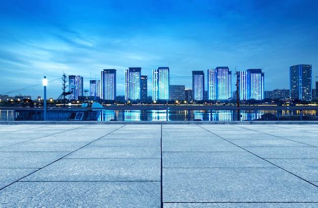 中国福州市、夜景 Premium写真