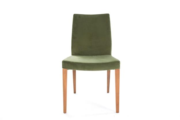 Зеленый образ жизни стул на белом фоне мебель Бесплатные Фотографии