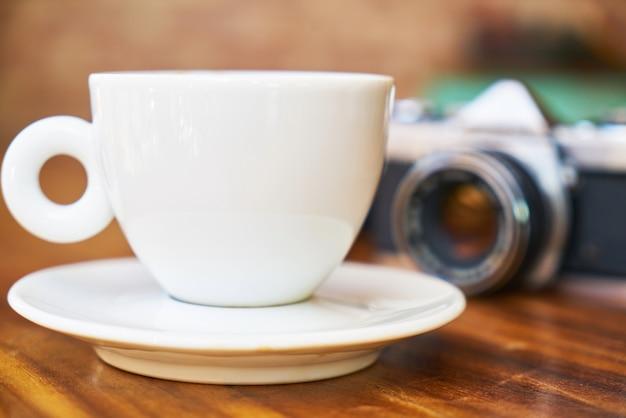Камера и кофе Бесплатные Фотографии