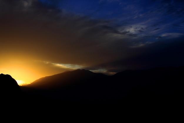 Закат пейзаж Бесплатные Фотографии