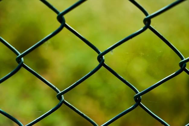鉄条網のクローズアップ 無料写真