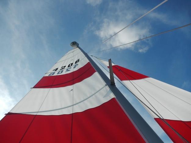 船の帆のクローズアップ 無料写真