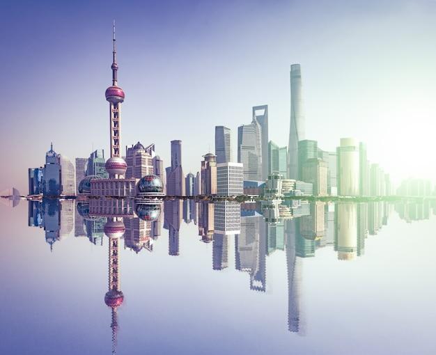 Китайский центр горизонт столичный дневное Бесплатные Фотографии
