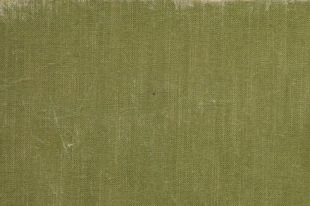 緑色の画面パターンを持つヴィンテージ布ブックカバー Premium写真