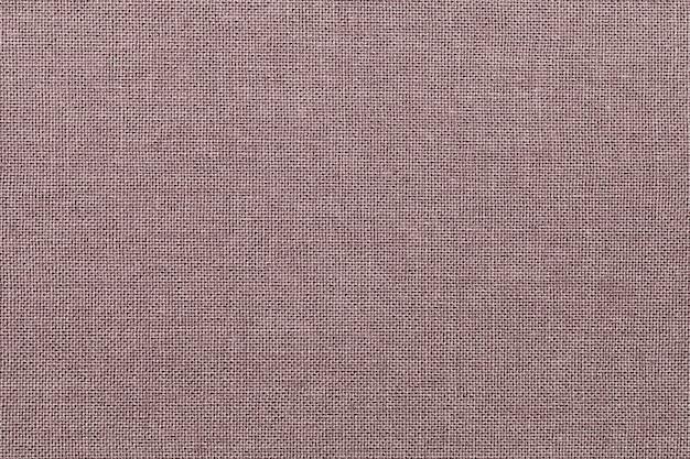 Коричневый фон из текстильного материала с плетением Premium Фотографии