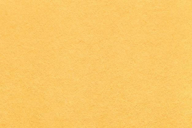 明るい黄色の紙テクスチャ背景 Premium写真