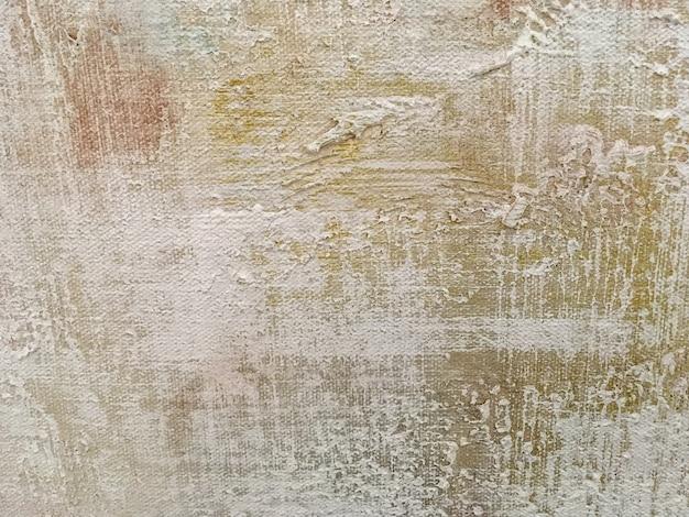 抽象的な美術背景ベージュ色のテクスチャ。 Premium写真