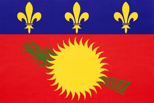 グアドループの国旗 Premium写真