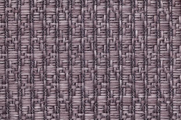 Коричневый вязаный шерстяной фон с рисунком из мягкой, ворсистой ткани текстура из текстиля крупным планом Premium Фотографии